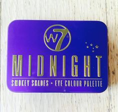 The Glam Box, Midnight, Smokey Shades Eyeshadow Palette, Beauty Products, Hair Beauty, Shades, Box, Birthday, Color, Design, Colour
