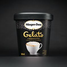 Bold and complex, Häagen-Dazs Cappuccino gelato beautifully blends cappuccino and sweet cream gelato for an irresistible flavour.