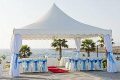 Kefalos beach marquee Beach Wedding Aisles, Beach Wedding Guests, Lace Beach Wedding Dress, Wedding Ceremony, Wedding Gazebo, Destination Wedding, Reception, Beach Weddings, Kefalos Beach