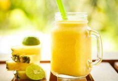 batido-de-piña,-manzana,-menta-y-limón-para-poder-relajarnos