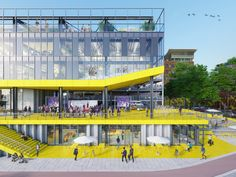 """Gallery of Netherlands Competition Winner Turns Parking Garage Into a """"Lego Set"""" - 4"""