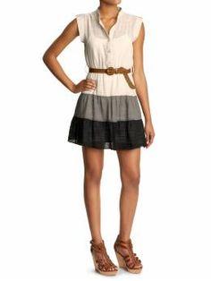Ya Los Angeles Colorblock Dress, please. $29.99 Piperlime