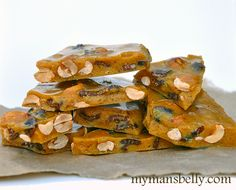 Christmas Candy Recipes: Bacon Peanut Brittle Recipe