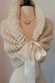 fitted poncho shrugs for winter wedding - Google Search