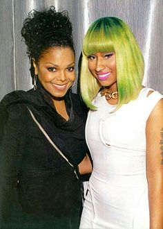 Nicki And Janet my heart & my soul!!
