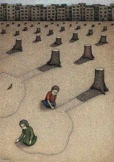 Illustration SadWe cannot afford to let this become our world& future. Our health and the h. Satirical Illustrations, Meaningful Pictures, Inspiring Pictures, Save Our Earth, Political Art, Political Cartoons, Art And Illustration, Environmental Art, Our World
