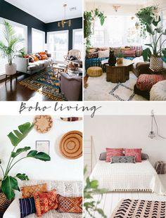 62 trendy home inspiration eclectic boho Boho Style Decor, Bohemian Decor, Look Boho, Eclectic Decor, Eclectic Style, Eclectic Bedrooms, Bohemian Bedrooms, Trendy Home, Mellow Yellow
