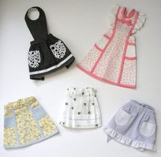 Looking for sewing project inspiration? Check out Miniature aprons by member dottyeb.