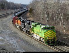 RailPictures.Net Photo: NS 1072 Norfolk Southern EMD SD70ACe at Fuera Bush, New York by Gary R. Schermerhorn