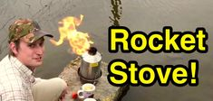 Using a Kelly Kettle/Rocket Stove out in a pond! (Skip to about 5 minutes to see it in action! Kelly Kettle, Rocket Stoves, The Great Outdoors, Picture Video, Survival, Join, Action, Group Action, Outdoor Life