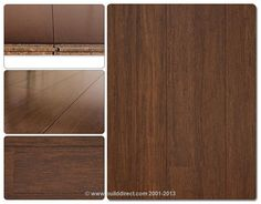 BuildDirect: Bamboo Flooring Stained Strand Woven Bamboo Floors   Sepia