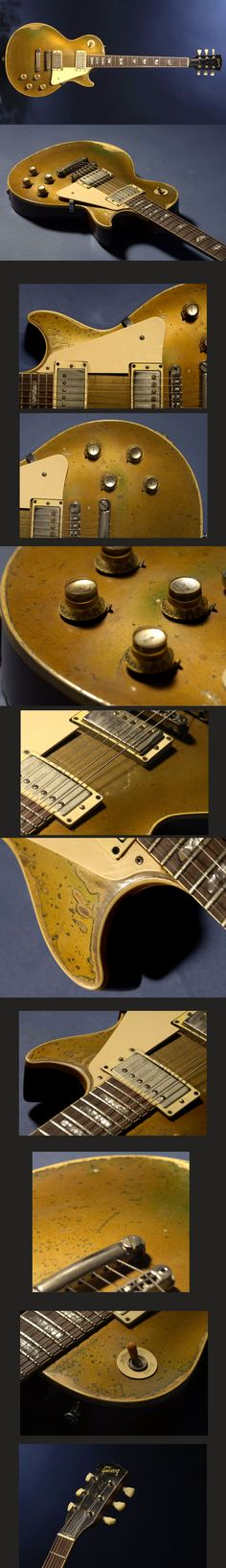 1968 Gibson Les Paul Std. Goldtop converted to PAFs...Gregor Hilden N°1 Guitar!!!