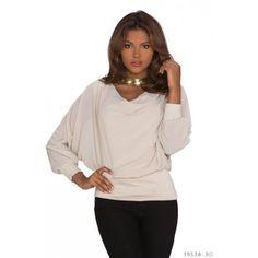 Langarm Top Chiffon Bluse Fledermaus Ärmel Chiffon, Tops, Sweaters, Shirts, Fashion, Blouse, Silk Fabric, Moda, Fashion Styles