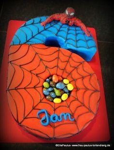 Torte Spiderman Tortendekorationskurse Fondant Motivtorte