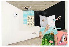 Bruno Kurru   Pelo Conhecimento (da série Condensação de Estados Sensíveis)  2010  acrílica e betume sobre tela  80 x 120 cm