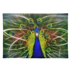 Shop The Peacock Dreamcatcher Placemat created by laureenr.