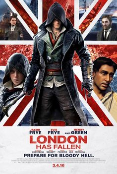 assassin's creed syndicate. Hahahahahaha!! XD I'd watch it. C: