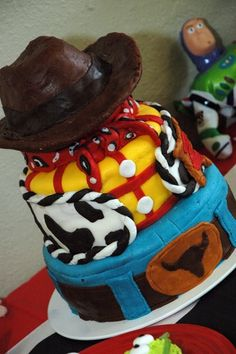 Toy Story cake♥ For more visit- www.These-2-Hands.com or on IG @ www.Instagram.com/These2Hands2012 ♥