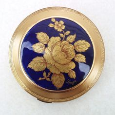 Limoges France Vintage Powder Compacts Vintage by WhimzyThyme, $62.95