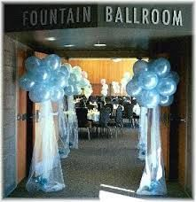 Tent and Tower Entry:  Identify Exit- Entrance decor idea