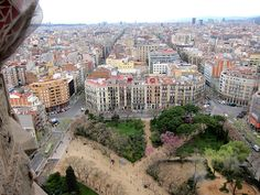 view from sagrada familia | by sunshineandbeyond