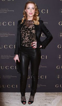 Amber Heard - The Society Of Sloan-Kettering Cancer Center 2010 Fall Party