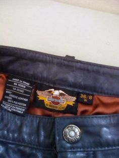 Ladies genuine leather bikers pants...gift...wrong size ...224508256