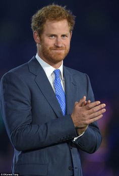 Prince Harry attends the Rugby World Cup 2015 Opening Ceremony at Twickenham Stadium on September 18 2015 in London England Prince Harry Of Wales, Prince Harry And Megan, Prince Henry, Prince William And Kate, Harry And Meghan, Royal Prince, Diana Spencer, Lady Diana, Prinz Harry Meghan Markle