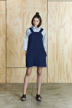 Pinafore Dress | Bhalo