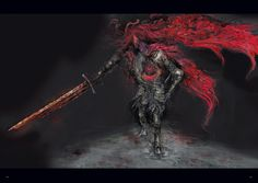 Slave Knight Gael. Dark Souls 3
