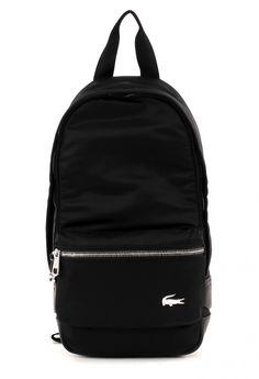 99094eb59e83 LACOSTE Schultertasche James Body Bag Black