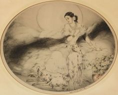 Louis Icart (French, 1888-1950) La Dame aux Camelias | Sale Number 2329, Lot Number 131 | Skinner Auctioneers