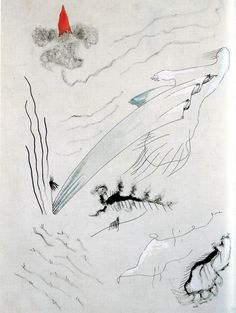 Yves Tanguy - 1926 - Dessin Automatique