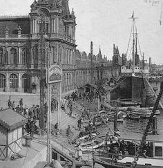 El port de Barcelona (1909)