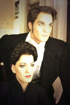 Meshell Dillon and Antony Hansen. Fantastically beautiful looks!! London, November 16, 2013.-