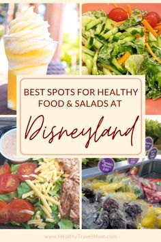 Best Places to Find Healthy Food & Salads at Disneyland (Plus a Free Printable! Disneyland Dining, Disneyland Food, Disney Food, Disneyland Resort, Disney Recipes, Disney Dining, Disney Parks, Brownie Recipe With Cocoa, Boxed Brownie Recipes