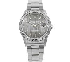Rolex Stainless Steel Thunderbird Mens Automatic Watch 16264