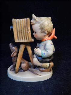 1964 Goebel M.I. Hummel Photographer #178 TMK #4 Porcelain Figurine GERMANY