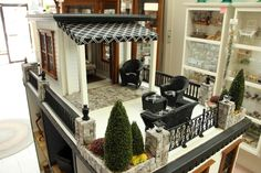 Rooftop Deck of the 'New Yorker' dollhouse...