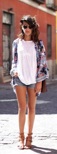 summer kimono style