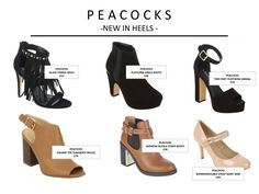 Peacocks Shoes AW15