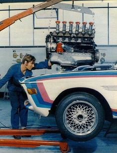 BMW E9 3.0CSL Batmobile