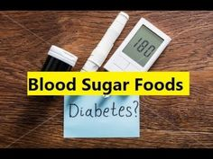 Blood Sugar Foods - Natural Blood Sugar Treatment