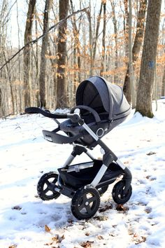 Ready for your New Arrival – Stokke Trailz is All Terrain, All Season & has a wide variety of accessories available too!