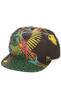 fc6df6deb53 Crooks and Castles Snapback The Regalia Noir Snapback Hat in Black