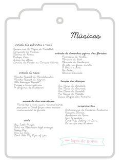 músicas para cerimônia de casamento | Lápis de Noivah