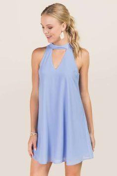 Aeryn Gigi Neck Shift Dress