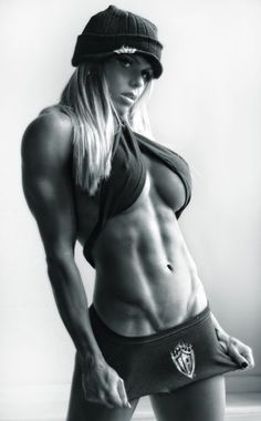 Give me a woman who LIFTS any day!