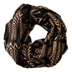 Infinity Scarf Illusion Waves, $28, now featured on Fab.