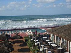 Restaurant by the water in Corniche Casablanca